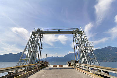 Ferry Dock At Porteau Cove Poster by Jpldesigns