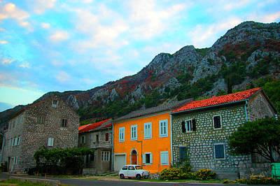 Fica Montenegro Coast Poster by Marko Mitic