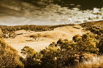 Fields Of Jericho Poster by Jorgo Photography - Wall Art Gallery