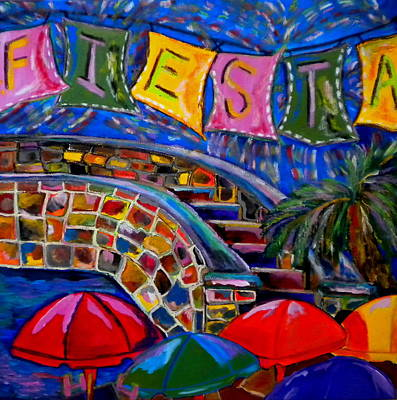 Fiesta Poster by Patti Schermerhorn