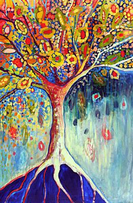 Fiesta Tree Poster by Jennifer Lommers