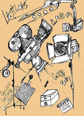 Film Set Poster by Michael De Alba