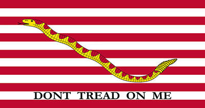 First Navy Jack Poster by War Is Hell Store