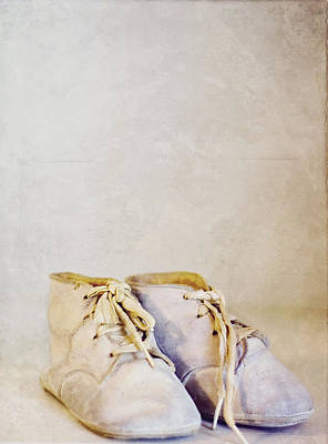 First Shoes - Color Poster by Rebecca Robinson