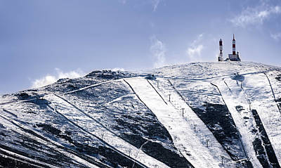 First Snowfalls Poster by Hernan Bua