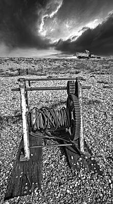 Fishing Boat Graveyard 8 Poster by Meirion Matthias