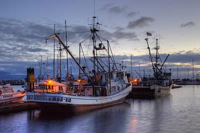 Fishing Fleet Poster by Randy Hall