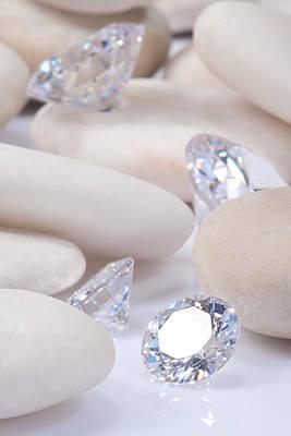 Flashing Diamond Poster by Atiketta Sangasaeng