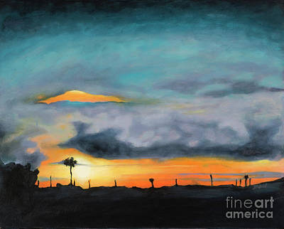 Florida Sunset Poster by Denise Wood