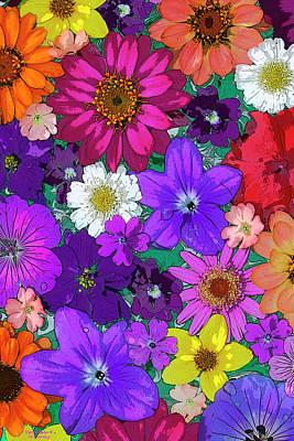 Flower Pond Vertical Poster by JQ Licensing