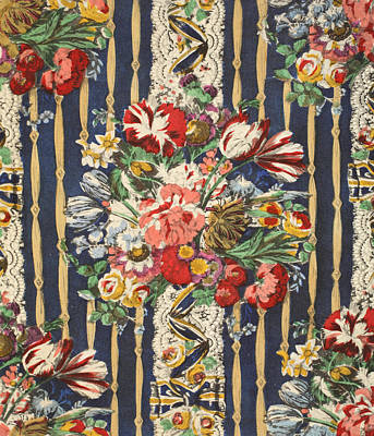 Flowers After Van Huysum Poster by Harry Wearne