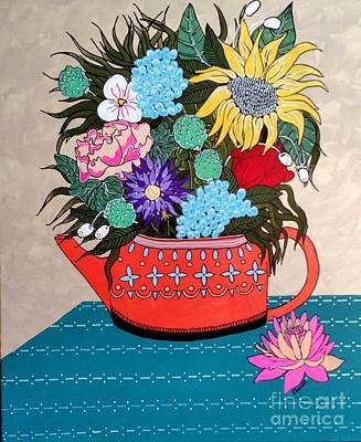 Flowers Poster by Amy Sorrell