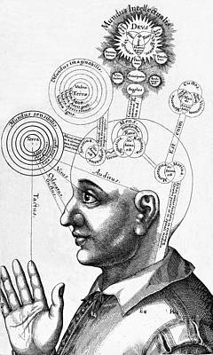 Fludds Mental Faculties, 1617 Poster by Wellcome Images