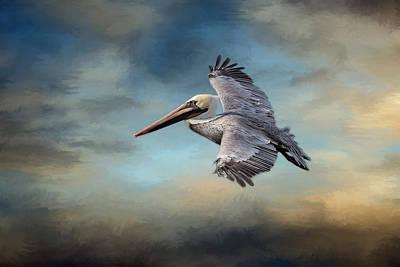 Fly Away With Me Poster by Kim Hojnacki