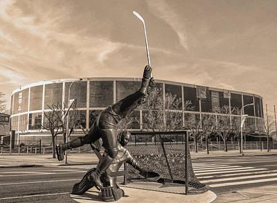 Flyers Hockey - Philadelphia Spectrum Poster by Bill Cannon
