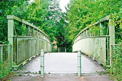 Footbridge Poster by Tom Gowanlock