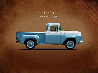 Ford F-100 1958 Poster by Mark Rogan
