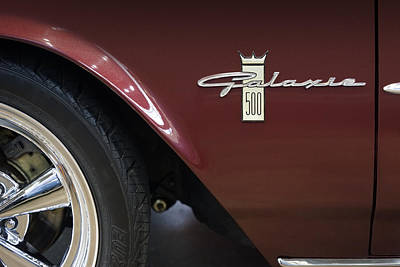 Ford Galaxie 500 Poster by Mike McGlothlen