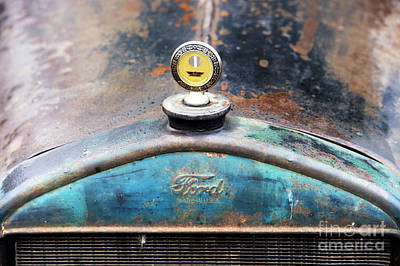 Ford Made In Usa Rat Rod Poster by Tim Gainey