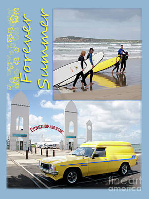 Forever Summer 6 Poster by Linda Lees