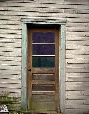 Forgotten Door Poster by Douglas Barnett