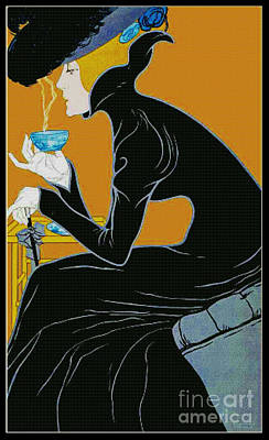 Fragrant Brew 1905 Poster by Padre Art