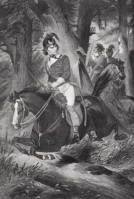 Francis Marion 1732-1795. Officer Poster by Vintage Design Pics