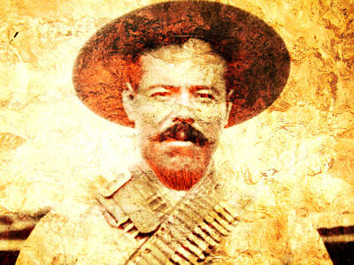 Francisco Villa Poster by Jose Espinoza