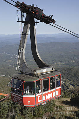 Franconia Notch State Park New Hampshire - Aerial Tramway Poster by Erin Paul Donovan