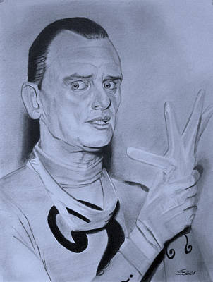 Frank Gorshin The Riddler Poster by Robert Steen