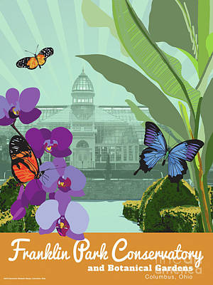 Franklin Park Conservatory  Poster by Buckland Gillespie