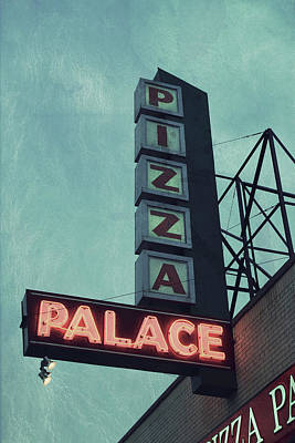 Frank's Pizza Palace Poster by Joel Witmeyer