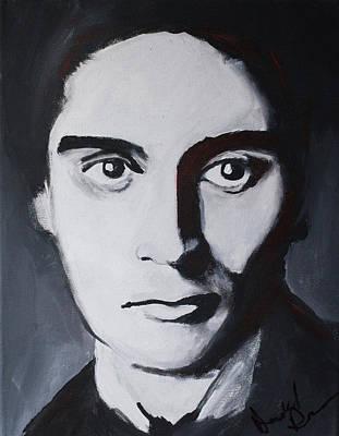 Franz Kafka Poster by Daniel Daruda