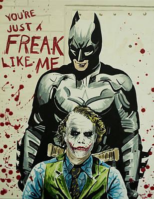 Freak Like Me Poster by James Holko