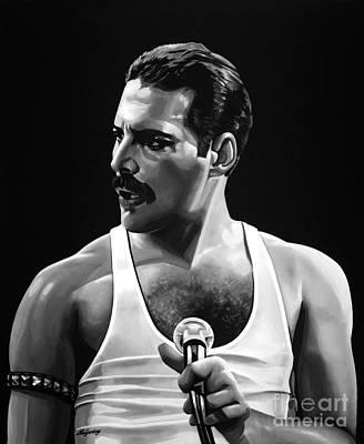Freddie Mercury  Poster by Meijering Manupix