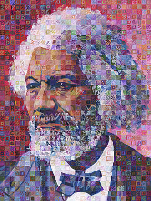 Frederick Douglass Poster by Randal Huiskens
