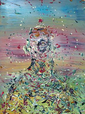 Free Improvisation #4 -saint- Poster by Fabrizio Cassetta