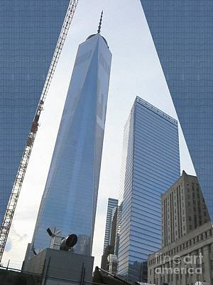 Freedom Tower Formerly World Trade  Centre Wtc New York Photo Taken On July 4 2015 Usa America's Bir Poster by Navin Joshi