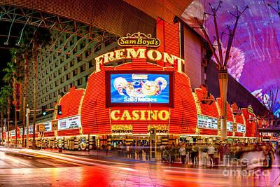 Fremont Casino Poster by Az Jackson