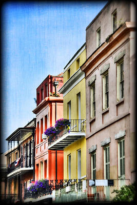 French Quarter In Summer Poster by Tammy Wetzel