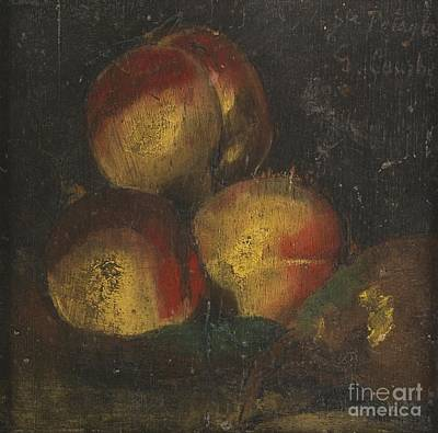 French Still Life With Three Poster by Gustave Courbet