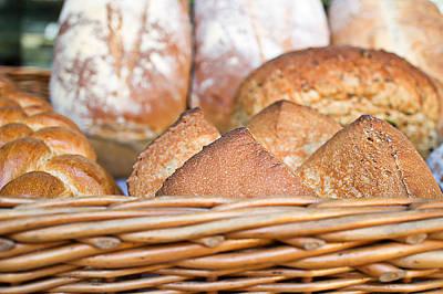 Fresh Bread Poster by Tom Gowanlock