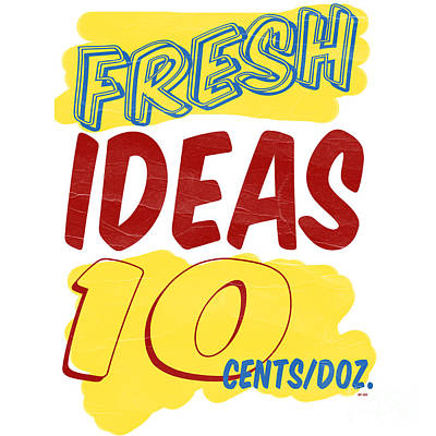 Fresh Ideas Poster by Edward Fielding