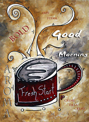 Fresh Start By Madart Poster by Megan Duncanson