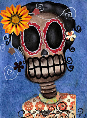 Frida Muerta Poster by  Abril Andrade Griffith