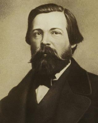 Friedrich Engels Poster by German School