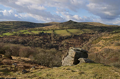 From Bench Tor To Sharp Tor Poster by Pete Hemington