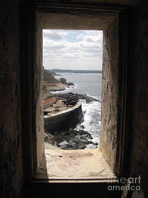 From The Window Of Morro Castle Poster by John Malone