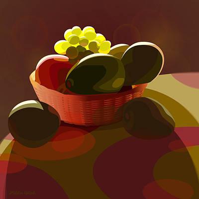 Fruit Basket Poster by Adam Gaba