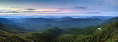 Frying Pan Mountain View Poster by Rob Travis